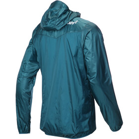 inov-8 Windshell Jas Doorlopende Rits Heren, blue green